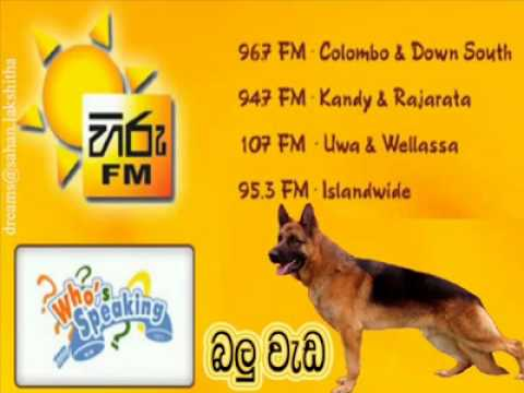 ( Balu Weda) - Hiru FM - The Who's Speaking - [Col3Neg]