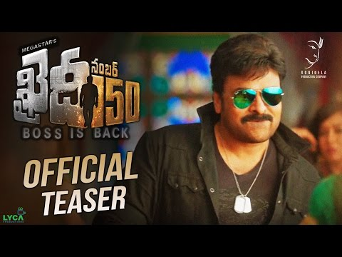 Khaidi No 150 Official Teaser || Mega Star...