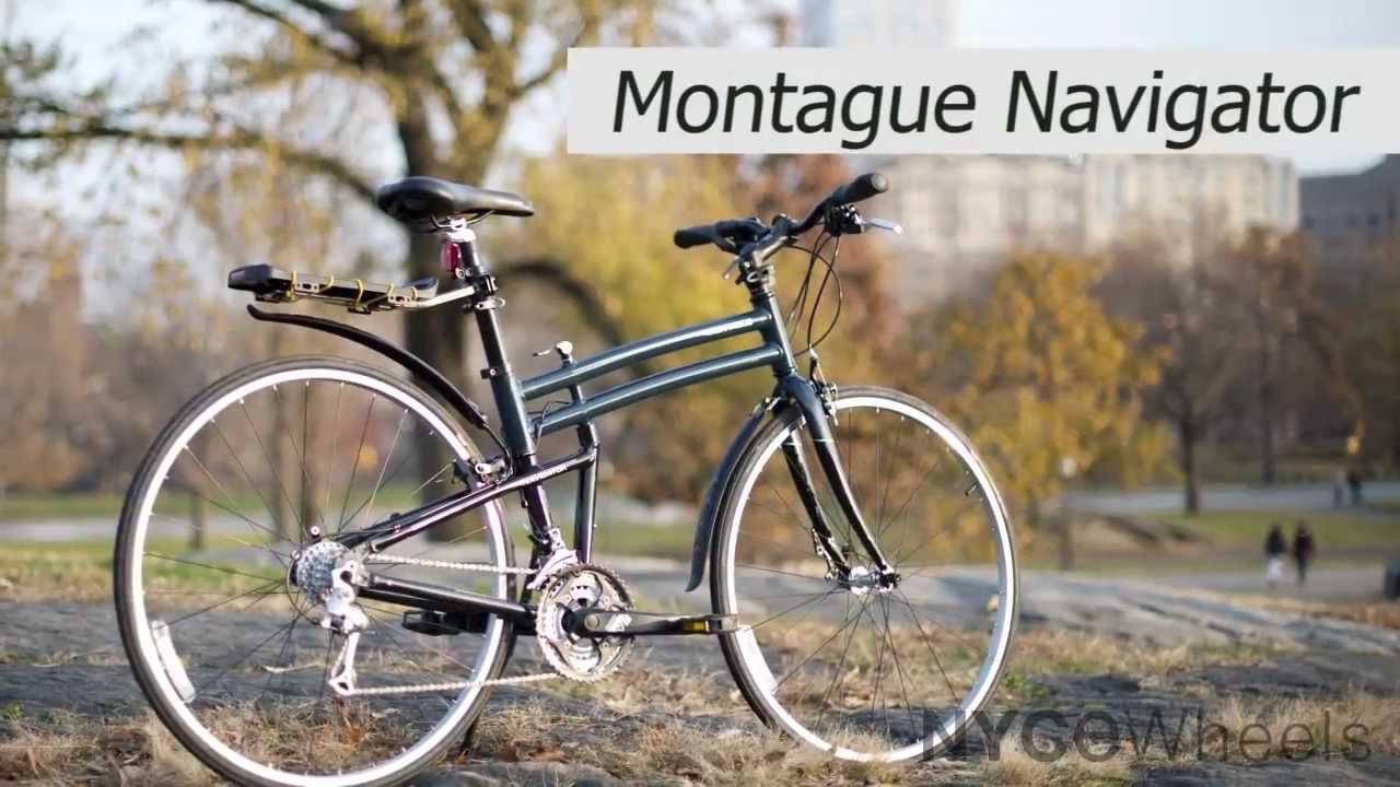 Montague Navigator Full Size Folding Bike Review Youtube