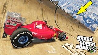 FERRARI F1 ON GTA 5! MORE CAR FAST GAME!