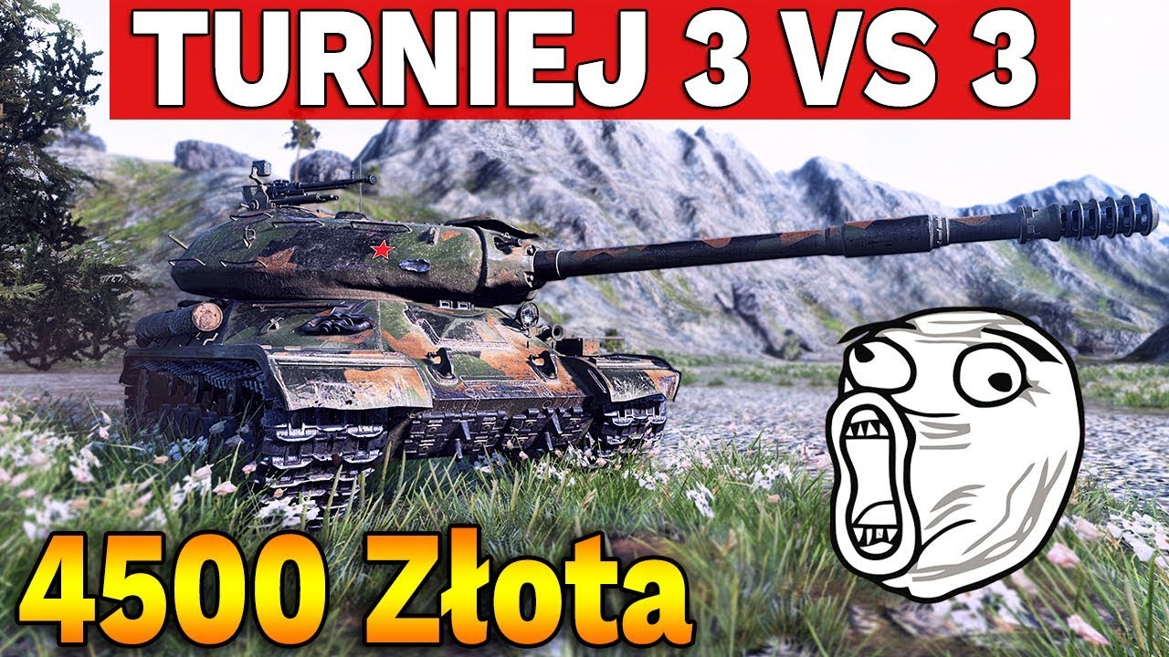4500 ZŁOTA do wygrania – Turniej 3vs3 od ESArena – World of Tanks