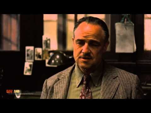"Negotiation from The Godfather - Don Corleone and ""The Turk"""
