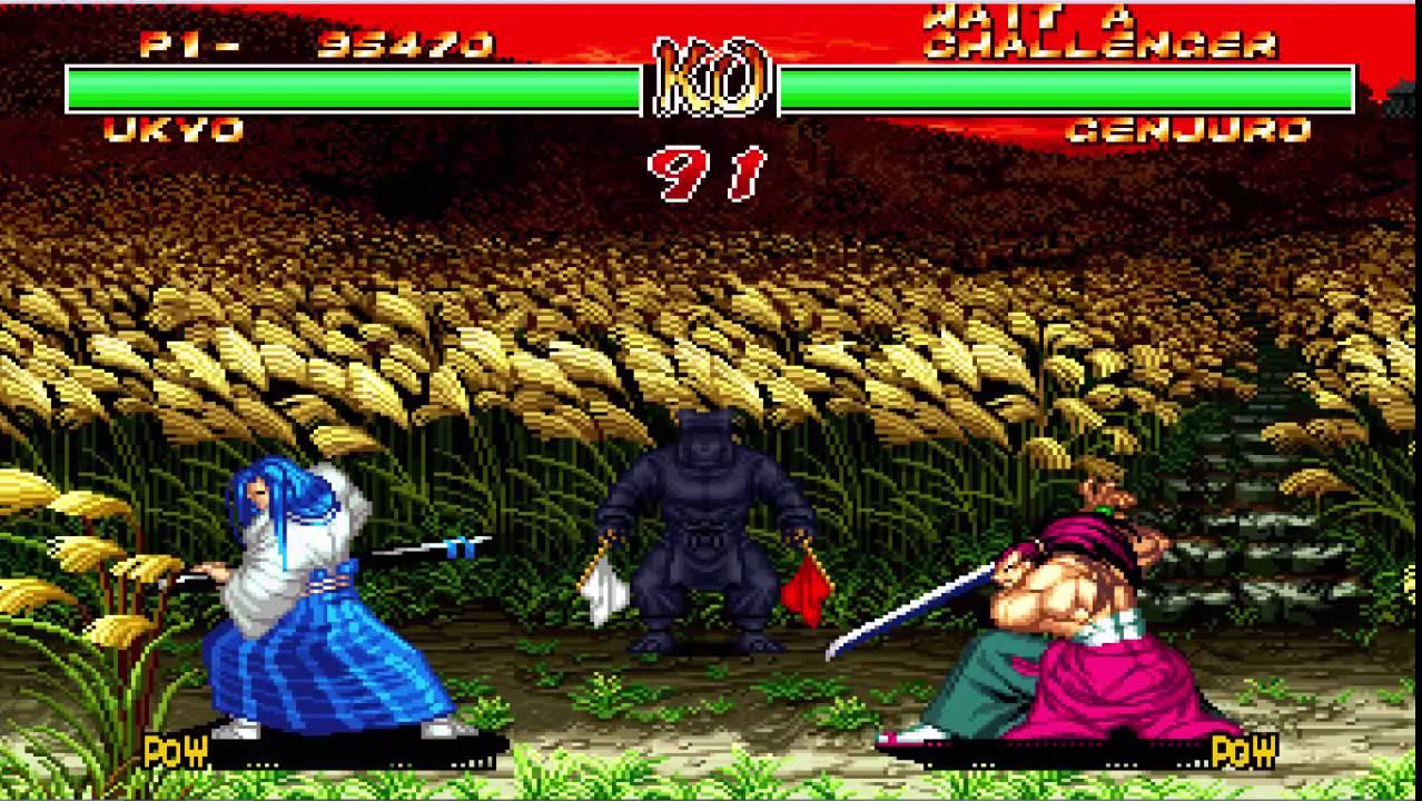 Samurai Shodown II- UKIO- Playthroughs - YouTube