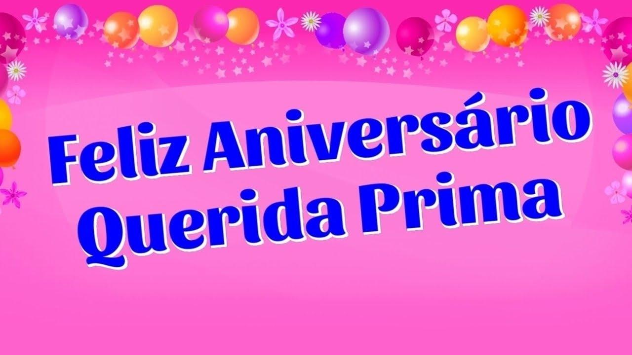 Mensagens De Aniversário Para Prima: Mensagem De Aniversário Prima Voz Feminina 01