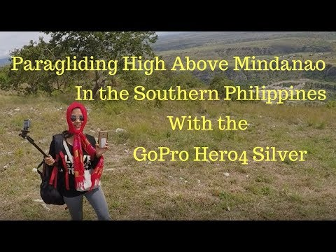 Paragliding High Above Mindanao, Philippines With the GoPro Hero4 Silver