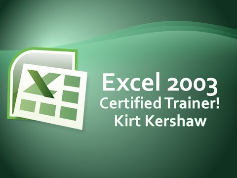 Excel 2003: Drawing Toolbar