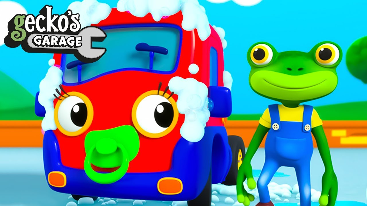 Gecko's Accidents, Mix-Ups, and Fun!|Gecko's Garage|Cartoon For Kids|Learning Videos For Toddlers