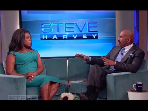 Lorraine Toussaint: Teach me a joke, Steve!  STEVE HARVEY
