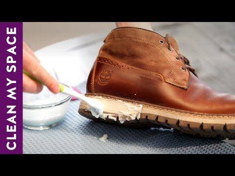 How To Clean & Shine Leather Shoes! (A Minute To Clean)