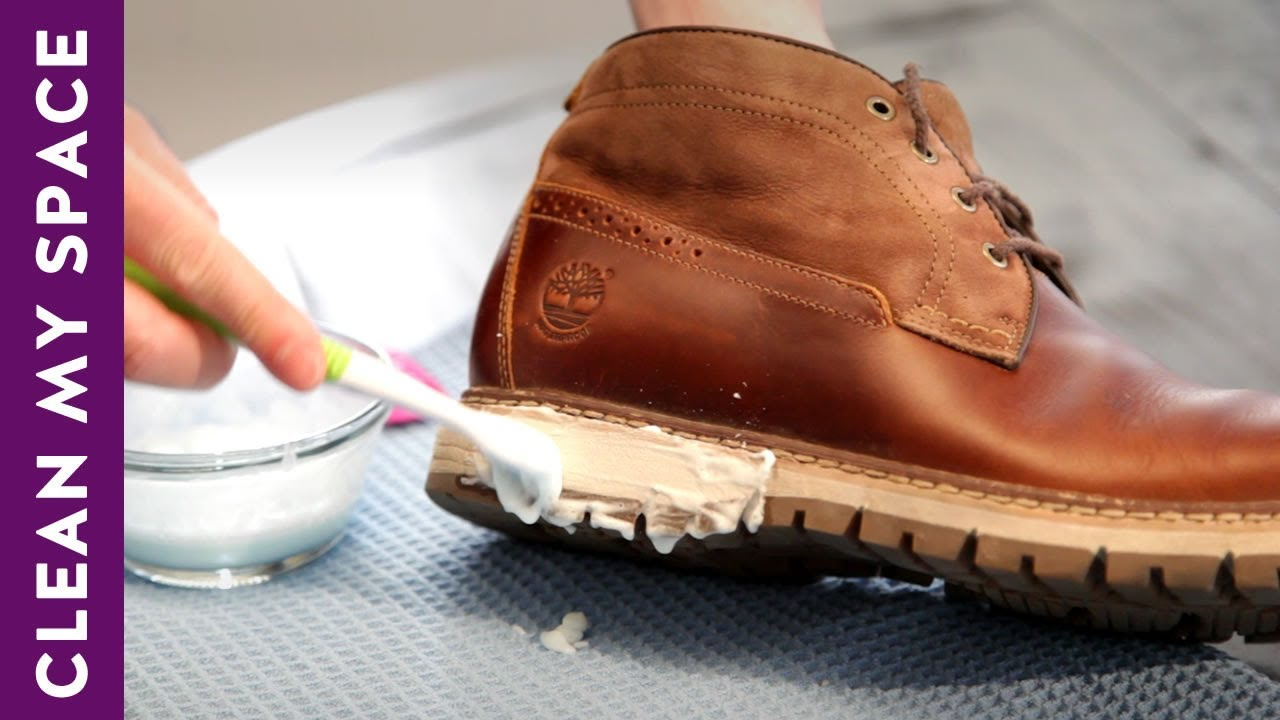 178dbb95aad7 How To Clean   Shine Leather Shoes! (A Minute To Clean) - YouTube