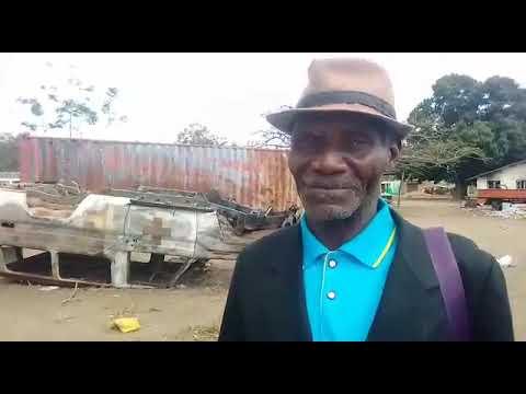 Centro de Saúde de Muatide, Muidumbe completamente destruído