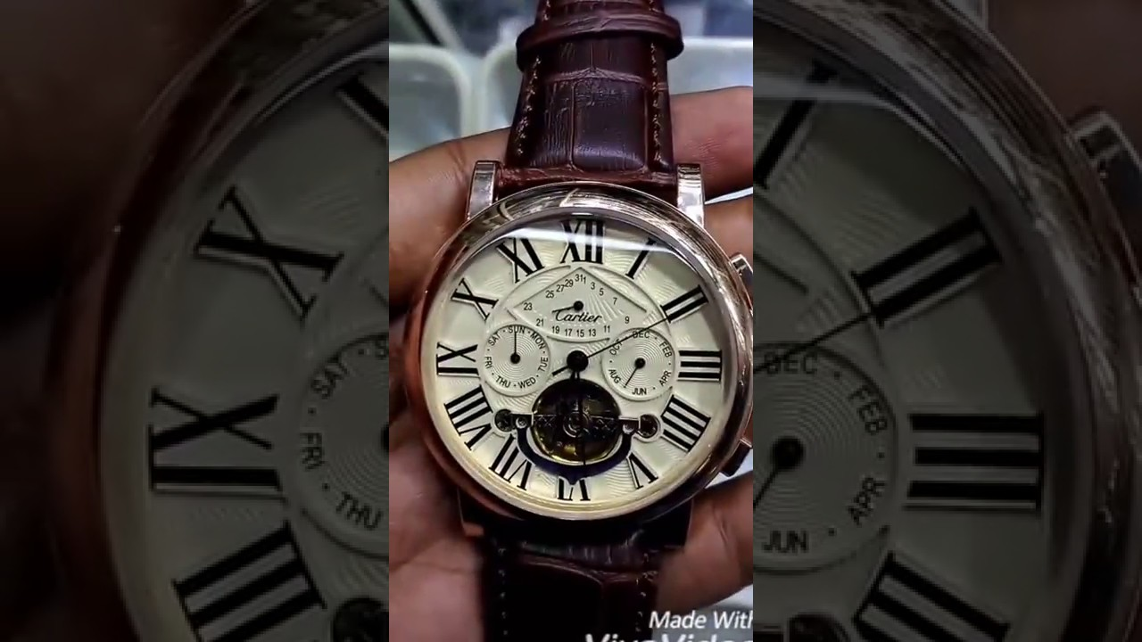Cartier Watches Cartier Automatic Watch