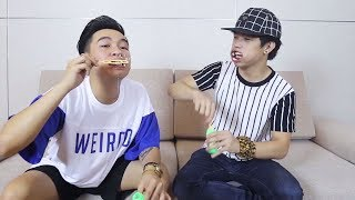 Trò chơi tuổi thơ - Phở Đặc Biệt  | funny with blowing bubbles