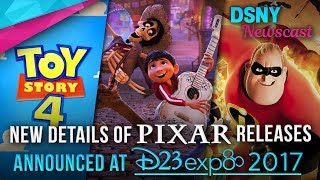 New Details of Upcoming PIXAR Movies Announced at D23 EXPO 2017 - Disney News - 7/14/17