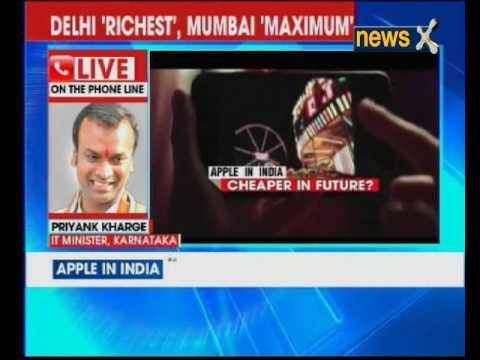 Apple iPhones with 'Made in India' tag: Karnataka IT Minister Priyank Kharge speaks to NewsX