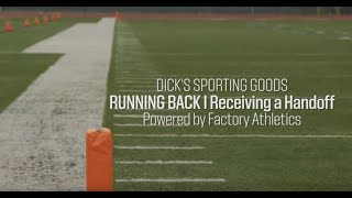 protips football running back tips receiving the handoff