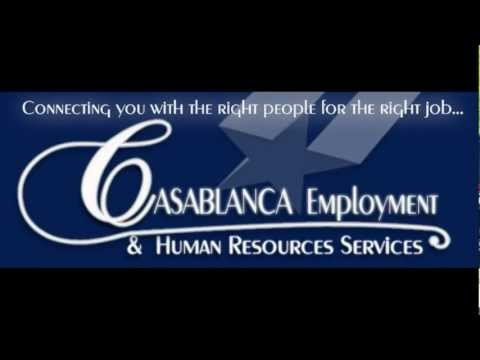 Casablanca Employment & Human Resources Services DFW Fort Worth HR agency