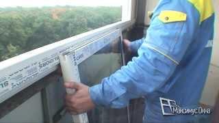 Максимус окна - монтаж окон Slidors (Слайдорс) на парапет балкона(, 2013-10-15T01:57:46.000Z)