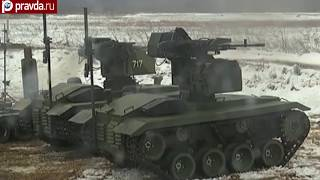Russia tests world's first kamikaze robot