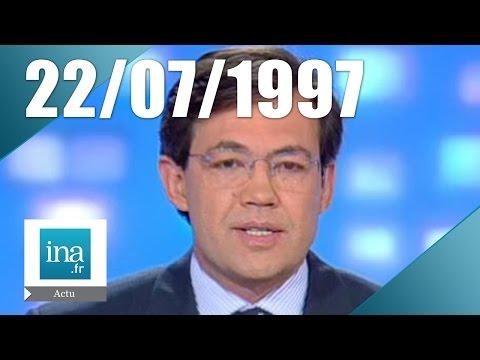 20h France 2 du 22 juillet 1997 - Inondations en Europe de l'Est   Archive INA