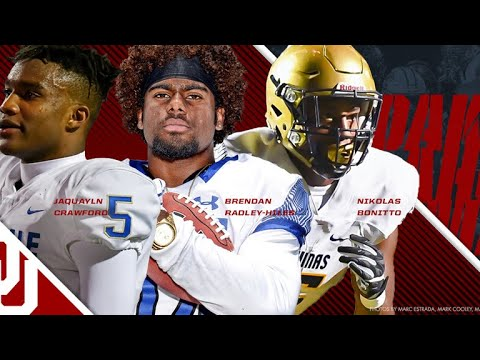 2018 Oklahoma commits - Top 10 Plays
