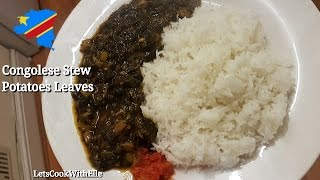 How To Cook Matembele/ Congolese Sweet Potato Leaves