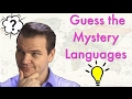 Mystery Languages 4 - Can you guess them all?