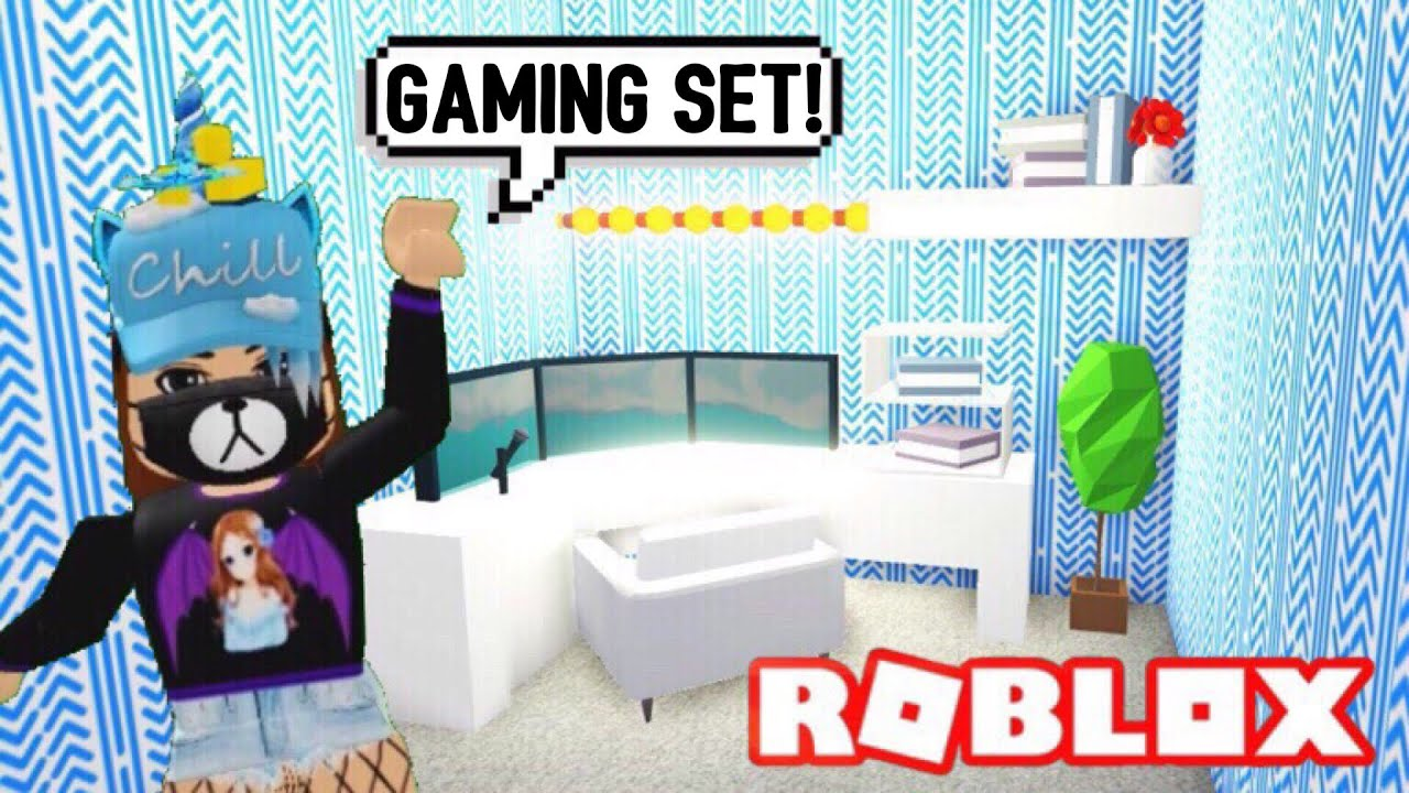 Youtuber Gaming Set Up Design Ideas Building Hacks Roblox Adopt Me Its Sugarcoffee Youtube
