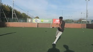 WEAK FOOT VOLLEY CROSSBAR CHALLENGE!!!