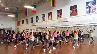 ★조용필 -꿈(Warming Up )워밍업  fitness Dance Choreography HalaAerobics(할라에어로빅)-CANADA