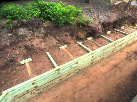 Timber Retaining Wall Designs timber sleepers for your retaining wall simon brady local smile sunshine coast Railroad Tie Wall Timelapse Youtube