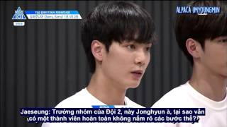 [VIETSUB] PRODUCE 101 Season 2 EP 4 - Sorry Sorry Team 2 Justice League CUT PART 1/3