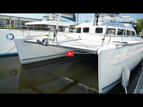 """2018 Lagoon 380 catamaran for sale in Fort Lauderdale """"Maria"""""""