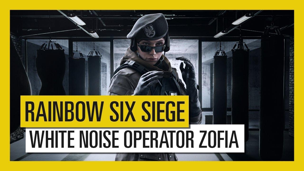 Tom Clancy's Rainbow Six Siege – White Noise : Zofia Operator