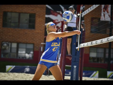 2019 Pac-12 Beach Volleyball Championship: Top-ranked UCLA sweeps Oregon to open title defense