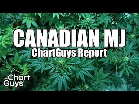 Canadian Marijuana Technical Analysis Chart 12/30/2017 by ChartGuys.com