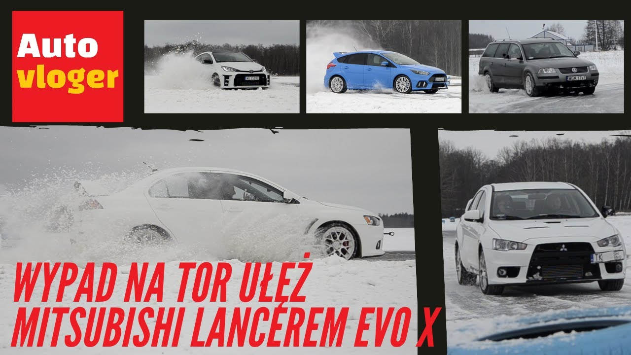 Wypad na tor Ułęż Mitsubishi Lancerem Evo X