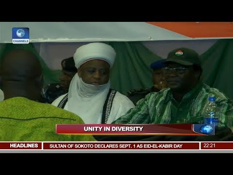 Restructuring Debate: Sultan Of Sokoto, Others Optimistic About Nigeria's Unity