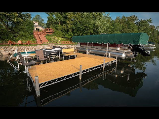 FLOE Aluminum Floating Docks: Stable and completely modular on mobile shipyard, mobile hot tub, mobile swimming pool, mobile restrooms, mobile river, mobile bridge, mobile storage shed, mobile floating deck, mobile island,