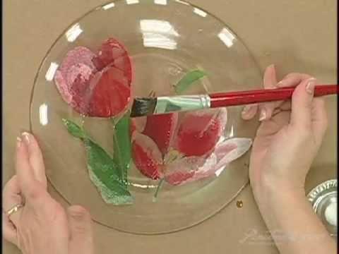 Passo a passo prato craquelado tigre ferramentas para for Pintura para decoupage