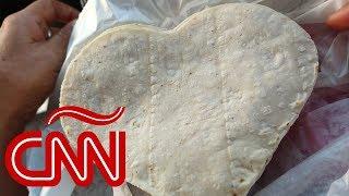 Tortillas en forma de corazón: ¿a quién se le ocurrieron?