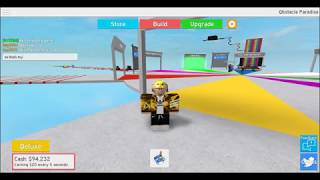 Trolling people ll roblox Obstacle paradise ll my second video ever!