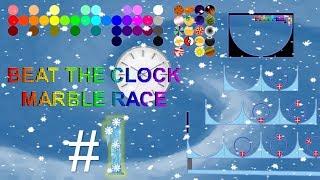 Beat The Clock Marble Race #1
