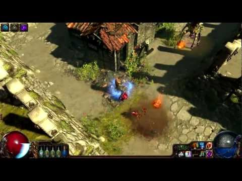 Path Of Exile Scion Melee Ranged Build