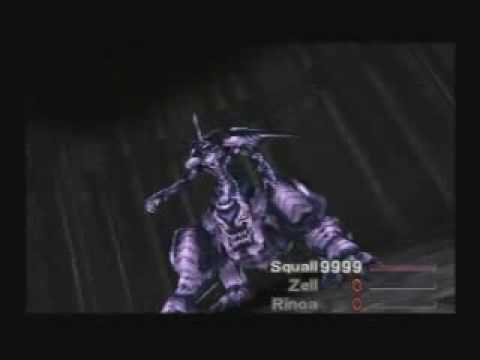 FF8 Squall Solo - killing Omega Weapon before Terra Break