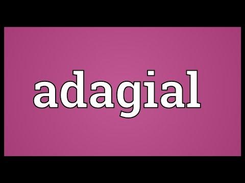 Header of adagial