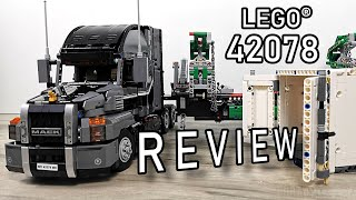 LEGO 42078 Review | Mack Anthem Truck | LEGO Technic 42078 | 42078 LEGO Truck | LEGO 2018