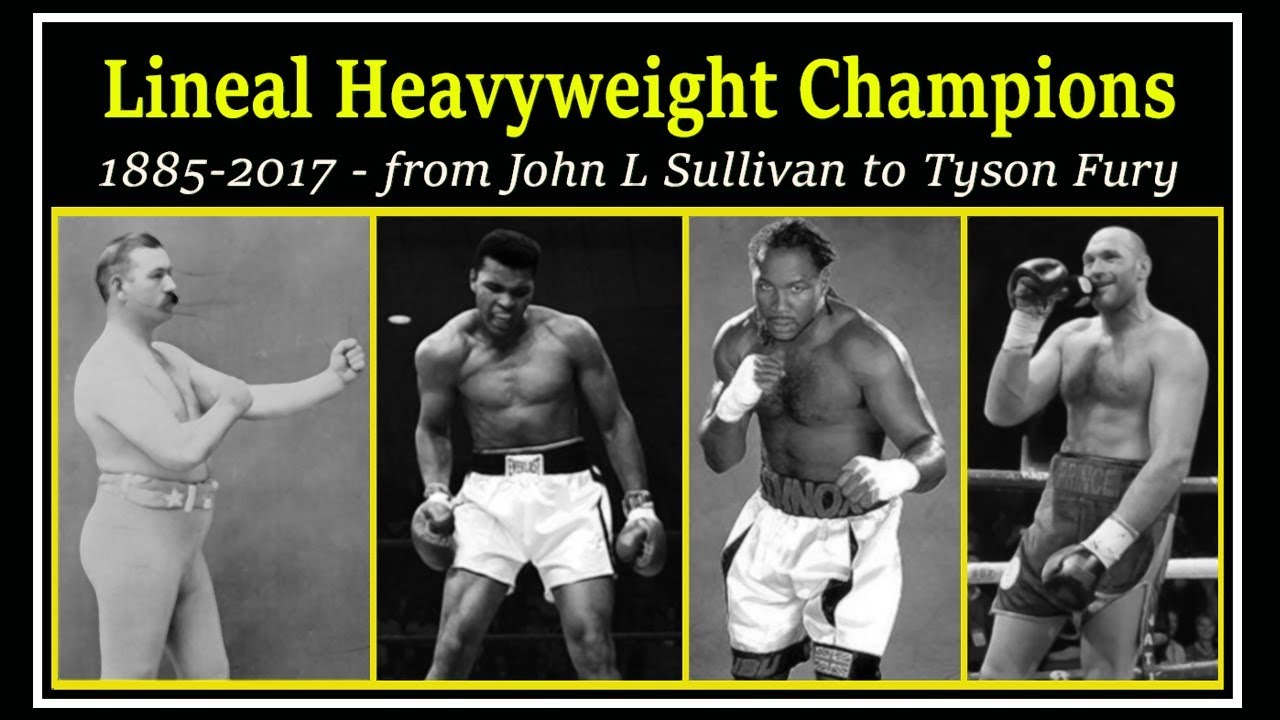 Download A brief chronology of lineal heavyweight champions