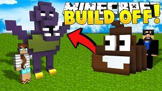 Minecraft: HUSBAND VS WIFE!! Build Battle Challenge!! - Mini-game