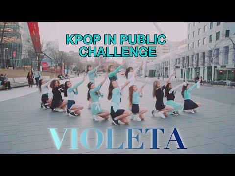 [EAST2WEST] Dancing Kpop In Public Challenge: IZ*ONE - Violeta